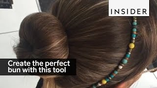 Download You can create the perfect bun in seconds with this tool Video