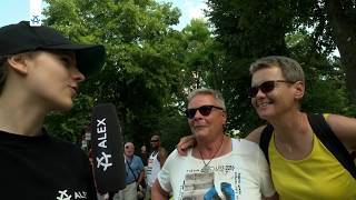 Download Christopher Street Day - Gedenkstätte Berliner Mauer - arabische Dichtung I Digga Magazin Video