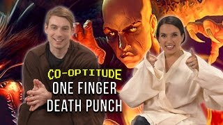 Download Let's Play One Finger Death Punch (Co-Optitude w/ Trisha Hershberger & Ryon Day) Video