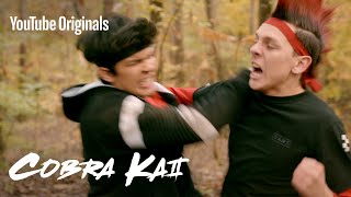 Download Kick like a Cobra - Inside the Stunts of Cobra Kai Video