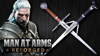 Download Witcher 3: Silver & Steel Swords - MAN AT ARMS: REFORGED Video