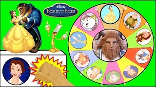 Download BEAUTY AND THE BEAST Toys Spinning Wheel Game | Surprise Toys, Dolls from Disney Movie Video