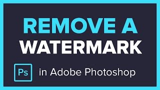 Download How to Remove a Watermark from an Image in Adobe Photoshop CC Video