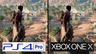 Download Assasins Creed Origins | PS4 Pro VS Xbox One X | 4K Graphics Comparison | Comparativa Video