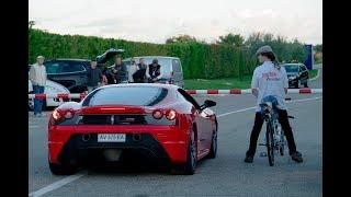 Download Rocket Bicycle World Record ǀ 333 km/h (207 mph) ǀ Rider: François Gissy Video