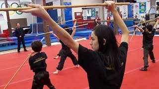Download Father-daughter duo introduce Americans to Chinese martial art of Wushu Video