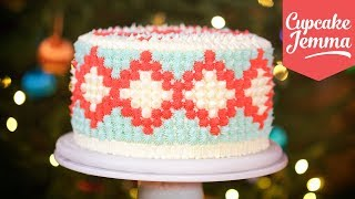 Download Christmas Jumper Cake How-To | Cupcake Jemma Video