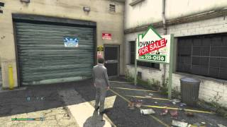 Download Michael Buying Garage Grand Theft Auto V gta5 PS4 Video