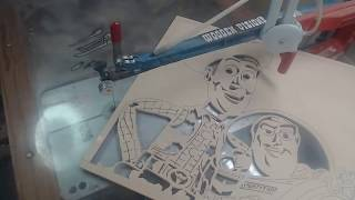 Download Finishing Woody & Buzz then starting another project. Video