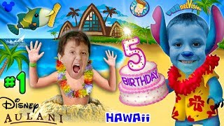 Download CHASE'S 5th BIRTHDAY in HAWAII! Disney Aulani Resort Activities FUNnel V Fam Trip Honolulu Par Video