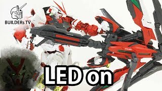 Download LED in Eyes - PG GUNDAM ASTRAY RED FRAME KAI Speed Build Review Video