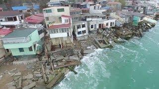 Download Руины Черноморска, дома уходят под воду Video