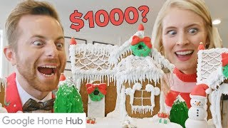 Download Home-Cooked Vs. $1000 Gingerbread House Video