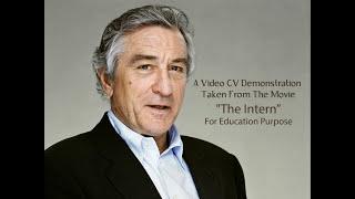 Download Video CV/Resume Demo by Robert De Niro Video