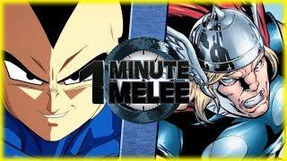 Download Vegeta vs Thor - One Minute Melee S5 Bonus Episode Video