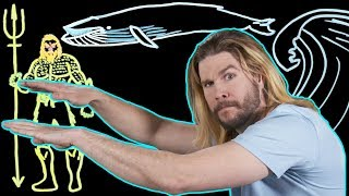 Download How Aquaman Swims at Supersonic Speed Video