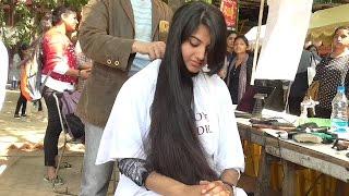 Download Open Air Haircut Series Epi # 6 ( Long Hair Model ) Video