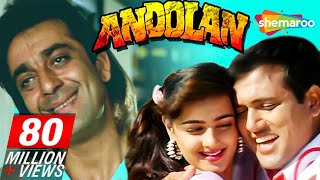 Download Andolan - Sanjay Dutt - Govinda - Mamta Kulkarni - Hindi Full Movie Video