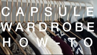 Download How To Make a Capsule Wardrobe | ViviannaDoesStyle Video