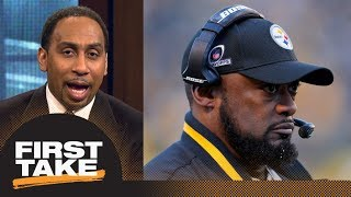 Download Stephen A. Smith does not think Mike Tomlin should be fired from Steelers   First Take   ESPN Video