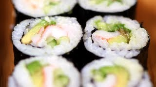 Download California Sushi Roll Recipe, Japanese Food, Yum How To Video