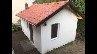 Download Budowa drewnianego budynku gospodarczego na płycie fundamentowej - 25 m2. Video