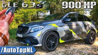 Download 900HP GLE 63 S AMG Coupe REVIEW POV Test Drive on AUTOBAHN & ROAD by AutoTopNL Video