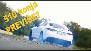 Download Alfa Romeo Giulia Quadrifoglio - testirao Juraj Šebalj Video