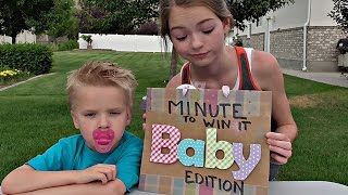 Download Minute to Win it: Jordan and Tyler! Video