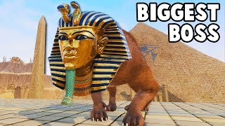 Download BIGGEST BOSS Yet! Mighty Sphinx Duel in Ancient EGYPT (Rock of Ages 2 Gameplay Part 8) Video