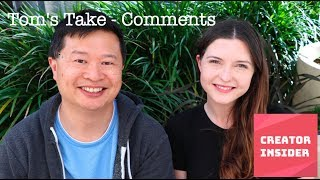 Download Tom's Take - Comments updates in YouTube Video