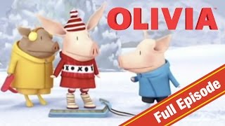 Download Olivia the Pig | Olivia's Snow Day | Olivia Full Episodes Video