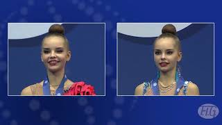Download 2017 Rhythmic Worlds, Pesaro (ITA) – Averina Twins… Who is Who ? – We are Gymnastics ! Video
