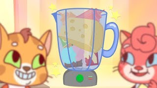 Download Cat Family | Cartoon for Kids | New Full Episodes #58 - Delicious Smoothie Video