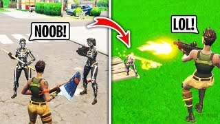 Download I Got Bullied For Being a Default in Playground Fill, Then DESTROYED Them (Fortnite) Video