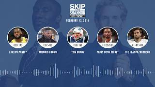 Download UNDISPUTED Audio Podcast (02.13.19) with Skip Bayless, Shannon Sharpe | UNDISPUTED Video