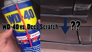 Download WD-40 on a Deep Car Scratch Video