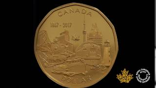 Download 2017 Special Edition Pure Silver Proof Set – CANADA 150: Our Home and Native Land: 1 dollar Video