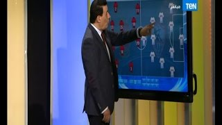 Download مساء الانوار - لقطة طريفه للكابتن مدحت شلبى وعدم علمه بظهوره على الهواء وهو يتوقع خطة الفريقين Video