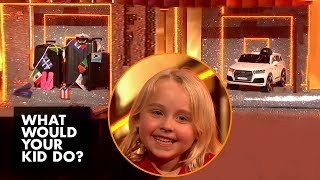 Download Kid Picks Between A Family Cruise... Or A Toy Car | What Would Your Kid Do? Video