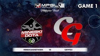 Download Mineski.GGnetwork vs Cryptex | MPGL8 Championship Dota 2 - Group Stage - Game 1 - Bo2 Video