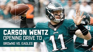 Download Carson Wentz Leads Impressive Opening Drive TD! | Browns vs Eagles | NFL Video