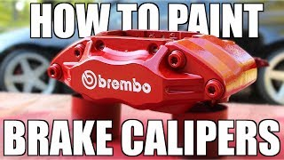 Download How to PROPERLY Paint Your Brake Calipers Video