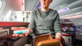 Download Is Qatar Airways business class TOO formal? (A380 CDG-DOH) Video