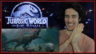 Download JURASSIC WORLD: FALLEN KINGDOM Trailer Reaction & Review with Bailey Video