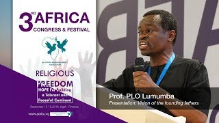 Download Prof. PLO Lumumba speaks to African religious leaders in Kigali Rwanda Video