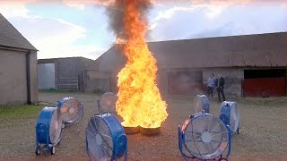 Download Creating A Fire Tornado | Factomania | Brit Lab Video