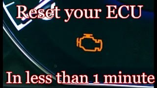 Download How to reset your ECU in less than 1 minute Video