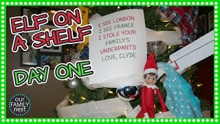 Download ELF ON A SHELF DAY 1 - CLYDE IS A PRANKSTER Video
