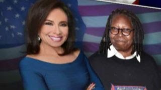 Download Judge Pirro, Whoopi Goldberg get into screaming match on 'The View' Video